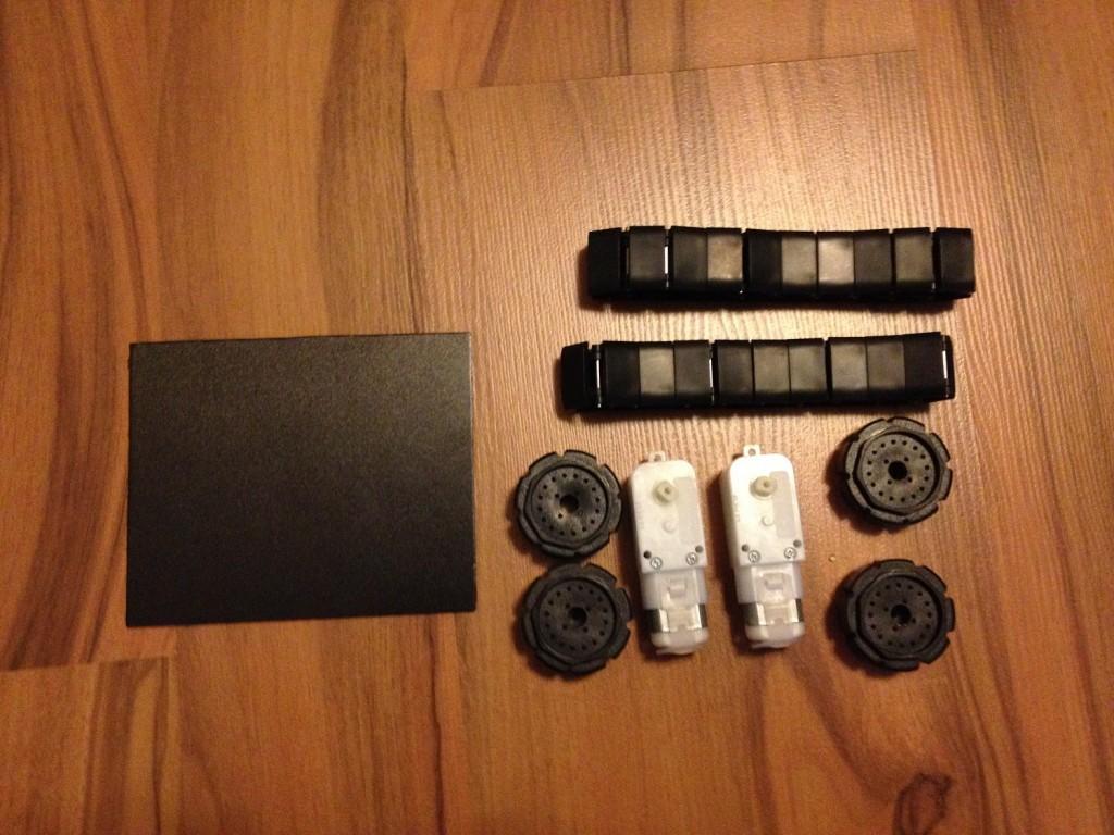 Arduino Roboter Panzerketten (1)