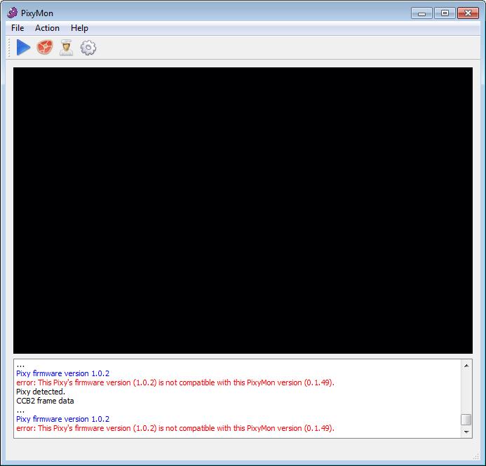 Fehlermeldung Firmware