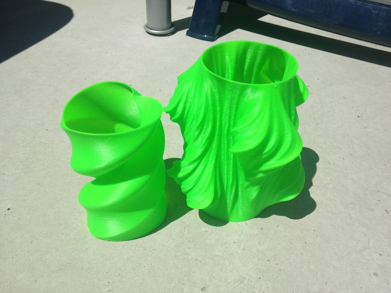 3D Druck Vasen
