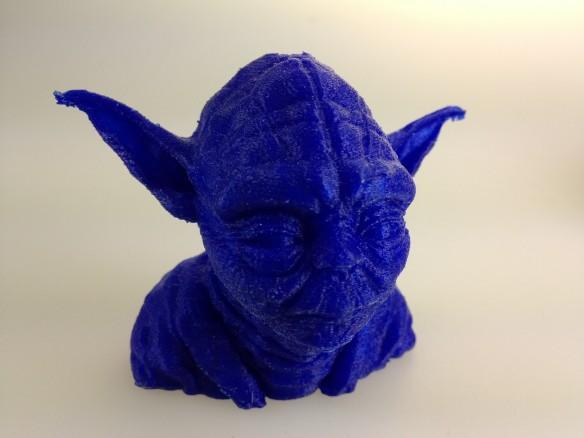 3D Druck Yoda 2