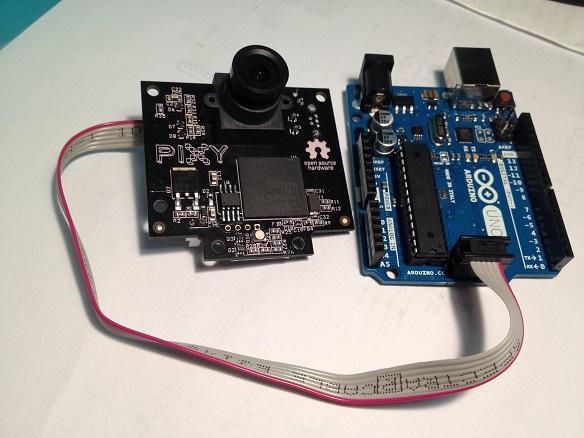 Pixy und Arduino